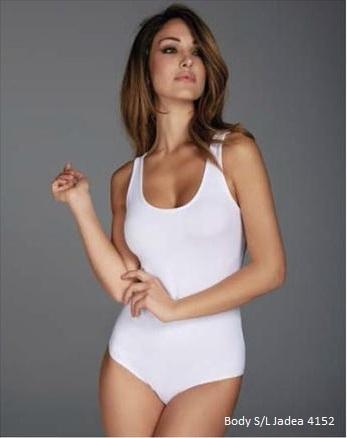 S//M Jadea Bianco Body Donna 4152