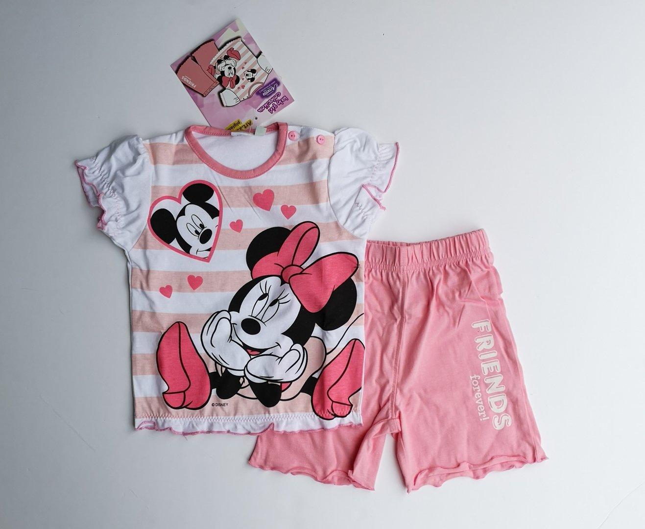 selezione migliore 78f81 2ef68 Pigiama Topolino e Minnie Disney Neonata by Arnetta