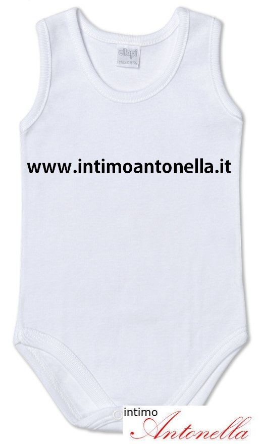 Body neonato spalla larga art.840 ellepi