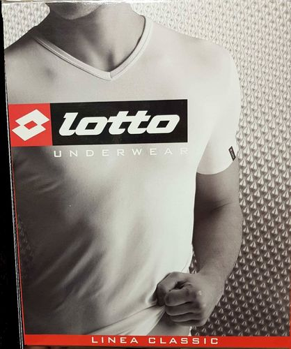 3 Maglie assortite Lotto Scollo V 052LS